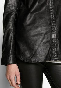 Ibana - MIES - Button-down blouse - black - 5
