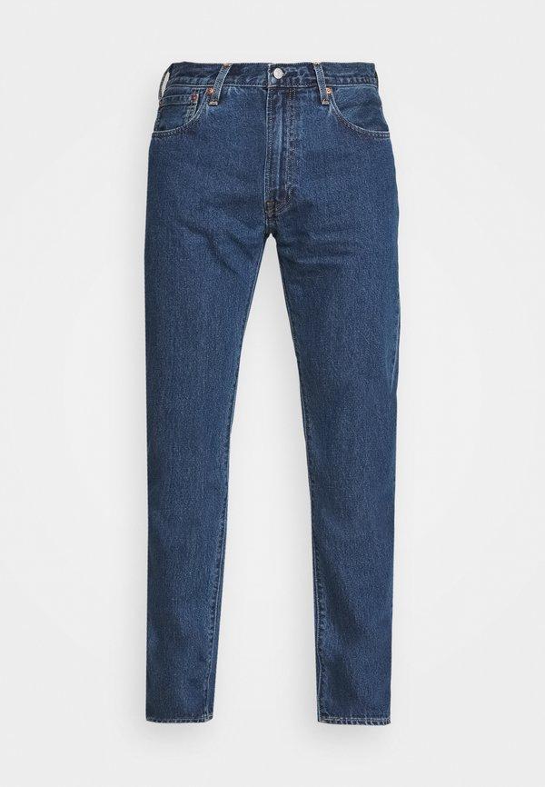 Levi's® 551Z™ AUTHENTIC STRAIGHT - Jeansy Straight Leg - dark blue denim/ciemnoniebieski Odzież Męska IOJN