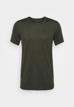 DRY SUPERSET - T-Shirt basic - sequoia/black