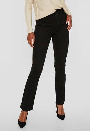SOPHIE - Bootcut jeans - black