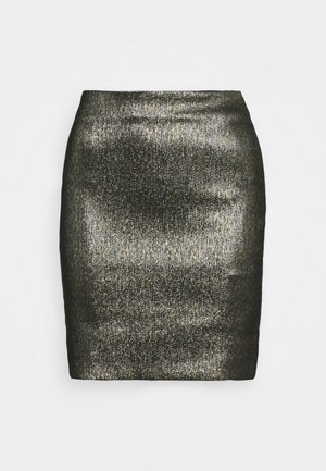 WILLOW SKIRT - Pencil skirt - gold