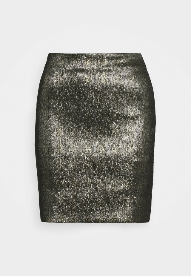 WILLOW SKIRT - Jupe crayon - gold