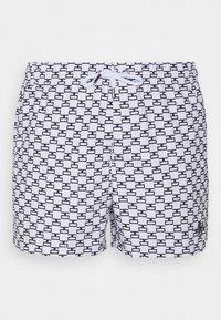SIKSILK - MONOGRAM SWIM - Shorts da mare - white - 3