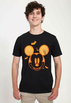 DISNEY CLASSICS UNISEX MICKEY PUMPKIN - T-shirts print - black