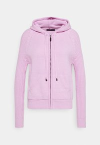Marks & Spencer London - RP RIB HOODY - Svetr - lilac - 0