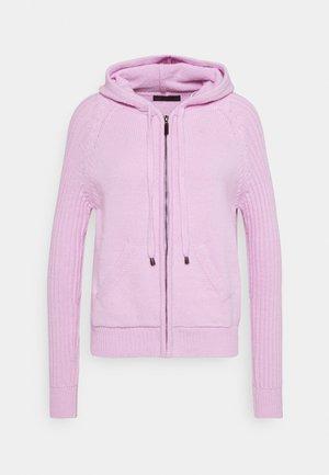 RP RIB HOODY - Jersey de punto - lilac