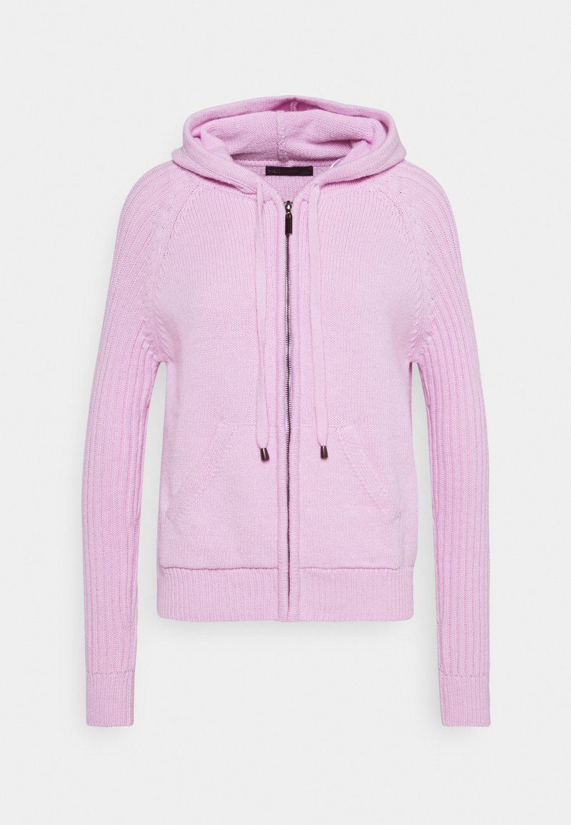 Marks & Spencer London - RP RIB HOODY - Svetr - lilac