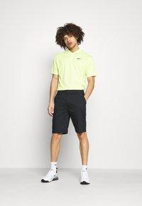 Nike Golf - DRY FIT VICTORY  - Pikeepaita - lemon twist/black - 1