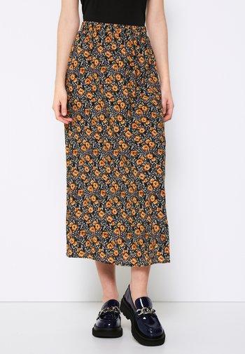 TESSA - A-line skirt - black
