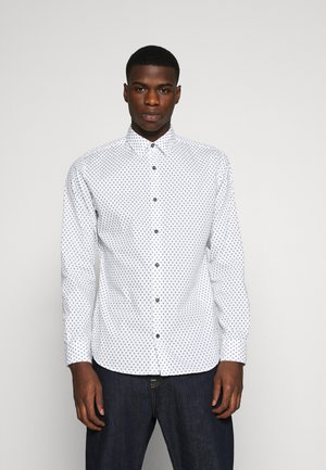 JORDUDE SLIM FIT - Shirt - cloud dancer