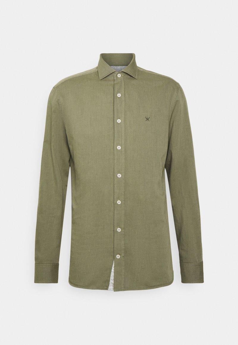 Hackett London - MULTI TRIM - Shirt - olive