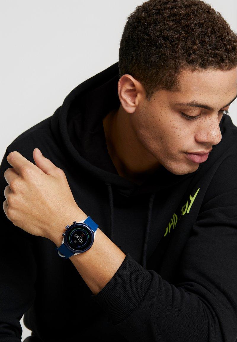 Fossil Smartwatches - SPORT  - Smartwatch - blue/grey