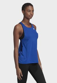 adidas Performance - DESIGNED TO MOVE ALLOVER PRINT TANK TOP - Top - blue - 2