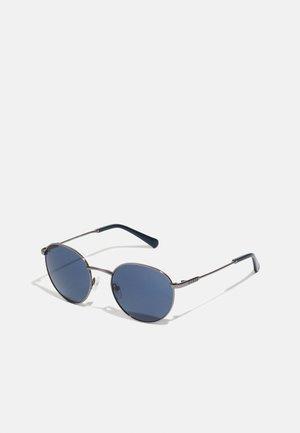 UNISEX - Sluneční brýle - shiny gunmetal/blue