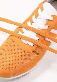 Tamaris - LACE-UP - Trainers - orange - 7