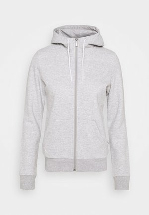 MODERN BASICS FULL ZIP HOODIE  - Sudadera con cremallera - light gray heather