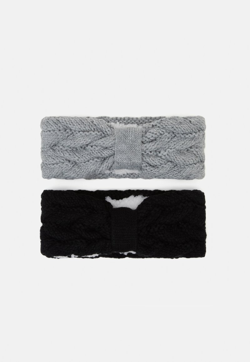 Anna Field - 2 PACK - Čelenka - grey/black