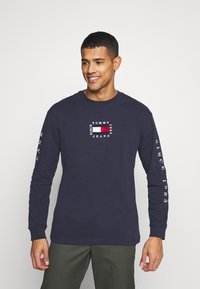 Tommy Jeans - Long sleeved top - twilight navy - 0