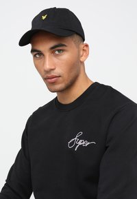 Lyle & Scott - Keps - true black - 0
