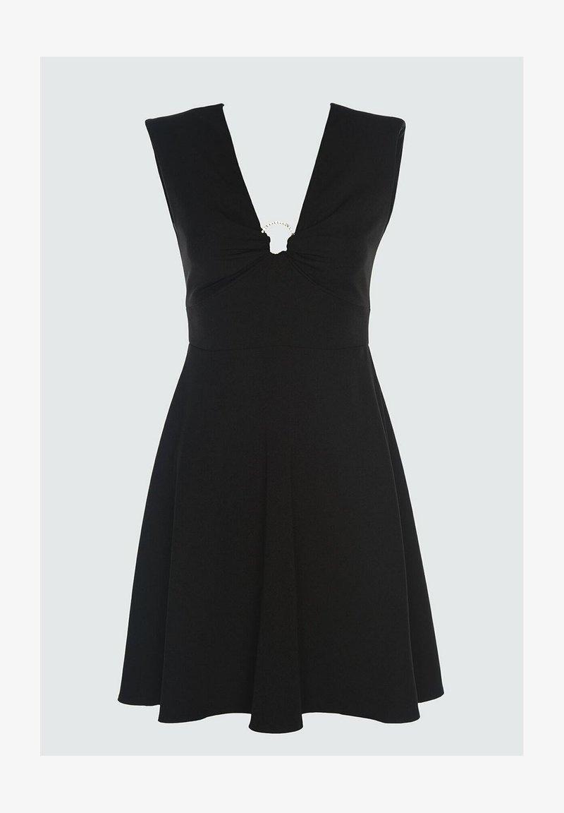 Trendyol - Robe de soirée - black