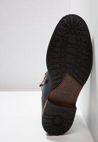 Bugatti - MARCELLO - Lace-up ankle boots - dark blue/grey - 4