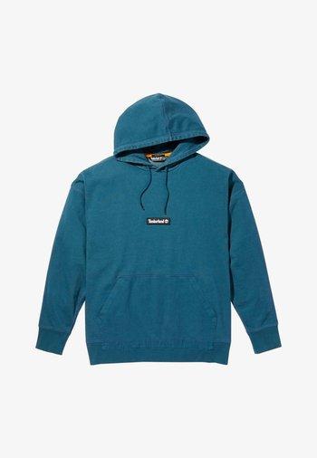 Hoodie - majolica blue