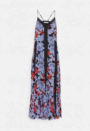 ANAIS  PRINT - Maxi šaty - black