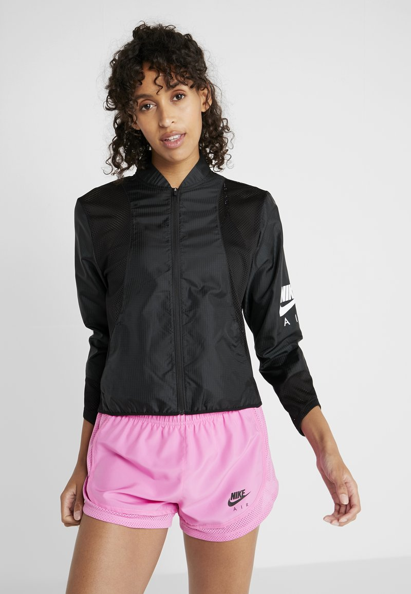 Nike Performance - AIR - Sports jacket - black/white