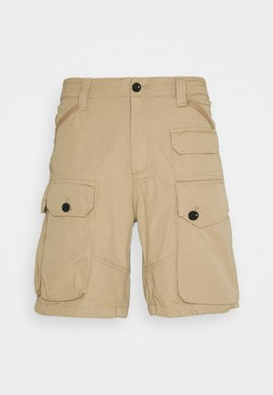 JUNGLE CARGO - Shorts - vintage ripstop - sahara
