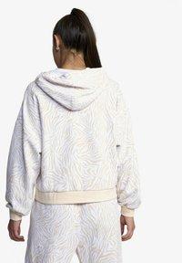 RVCA - Hoodie - white zebra - 1