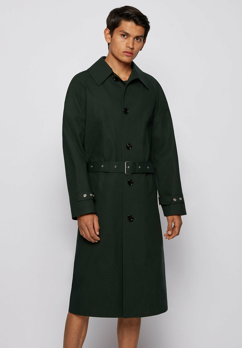 BOSS - ANDO RW - Trenchcoat - open green