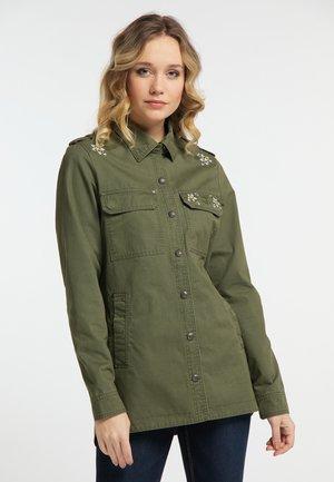 Lehká bunda - militär grün