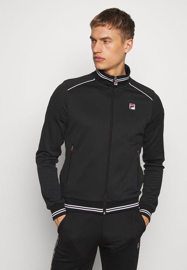 JOE - Training jacket - black