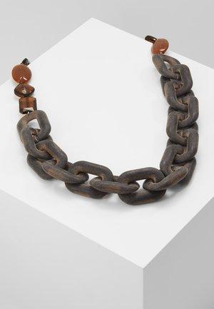 AZULENE - Necklace - brown