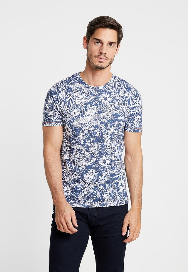 PKTGMS BAY TEE  - T-shirt con stampa - dark denim