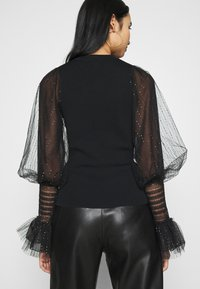 Nly by Nelly - SLEEVE  - Topper langermet - black - 3