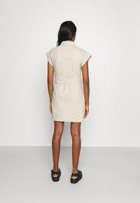 Monki - Shirt dress - beige dusty light - 2
