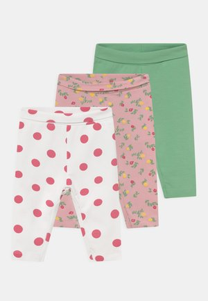 NBFMARIE 3 PACK - Leggings - Trousers - coral blush
