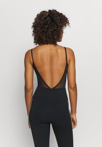 Capezio - BACK LEOTARD - Danspakje - black