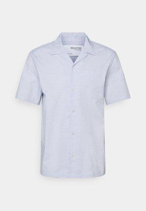 SLHRELAXWADE - Skjorter - medium blue melange