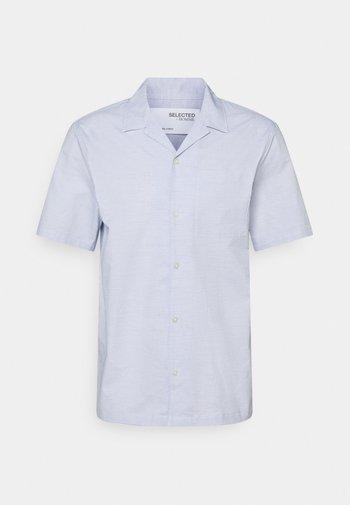 SLHRELAXWADE - Shirt - medium blue melange