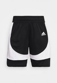 PREMIUM BASKETBALL TEAM SHORTS - Sports shorts - black/white
