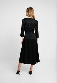 Kaffe - KAVELLA DRESS - Shirt dress - black deep - 3