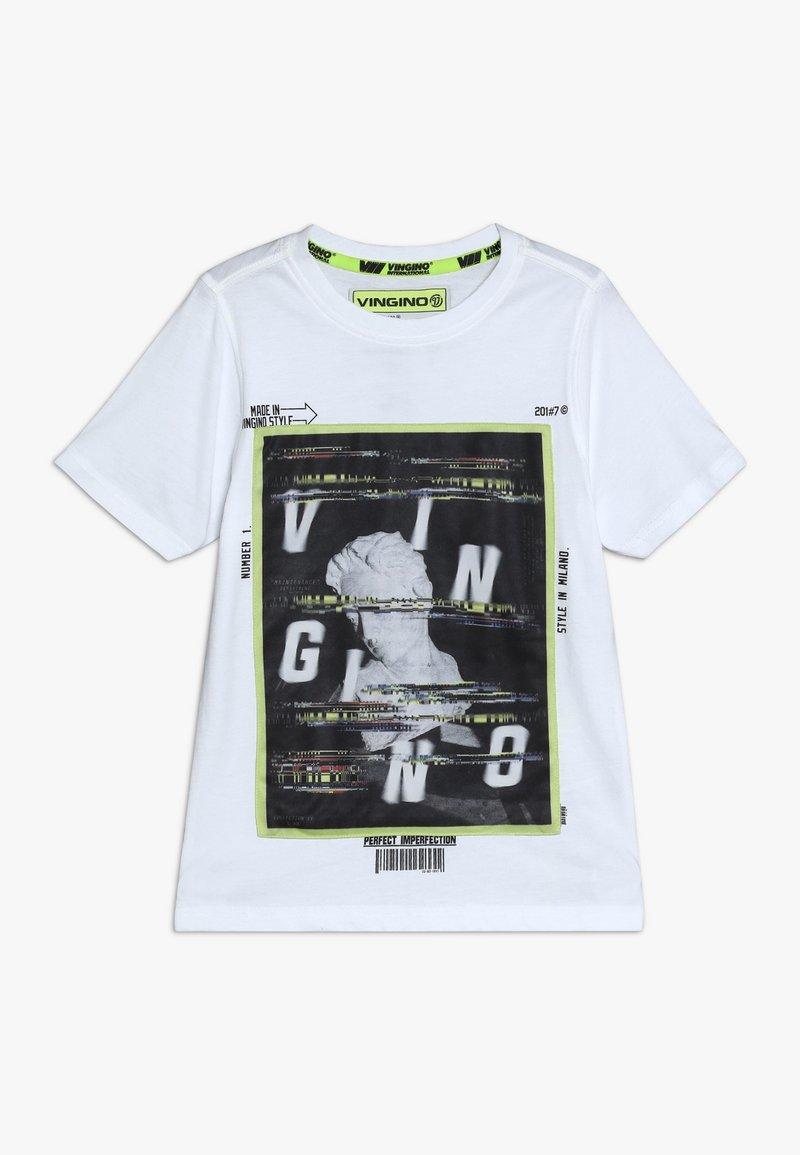 Vingino - HEFFIE - Print T-shirt - real white