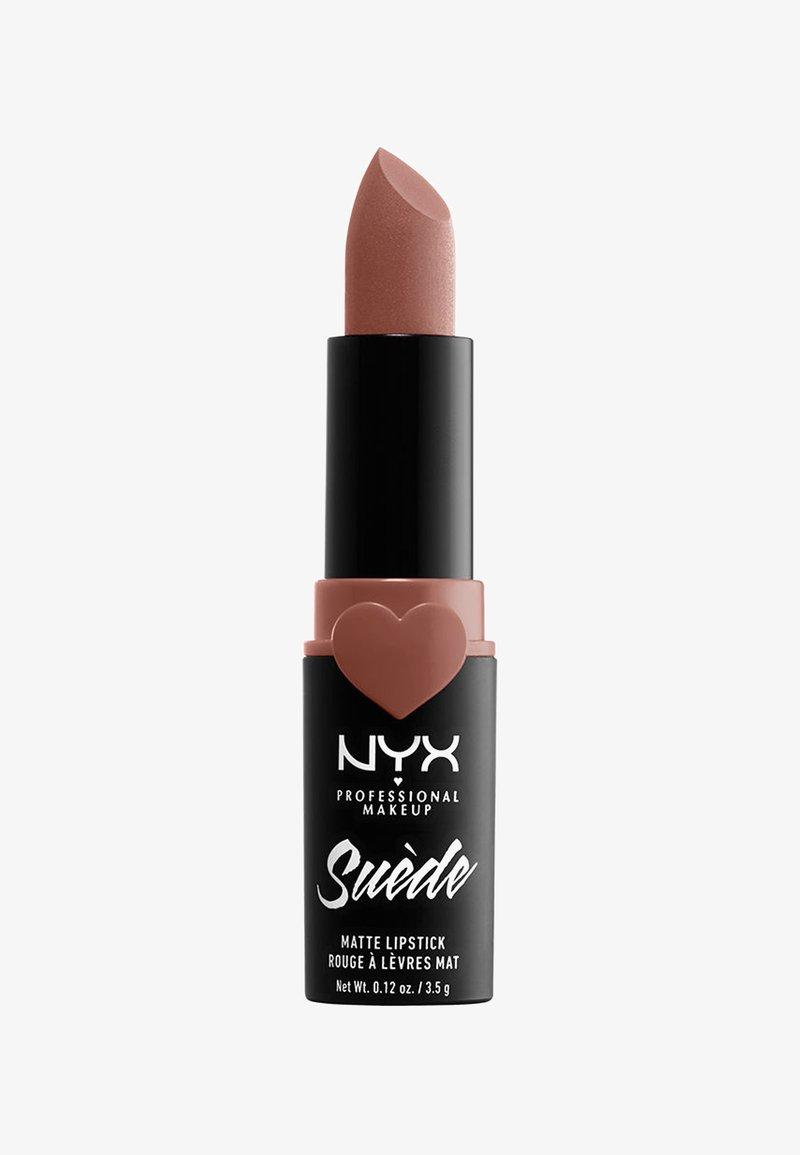 Nyx Professional Makeup - SUEDE MATTE LIPSTICK - Lipstick - 2 dainty daze