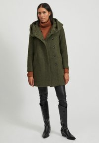 Vila - Classic coat - forest night - 1