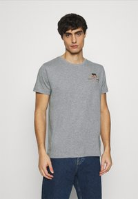 GANT - ARCHIVE SHIELD - T-shirt med print - grey melange - 0
