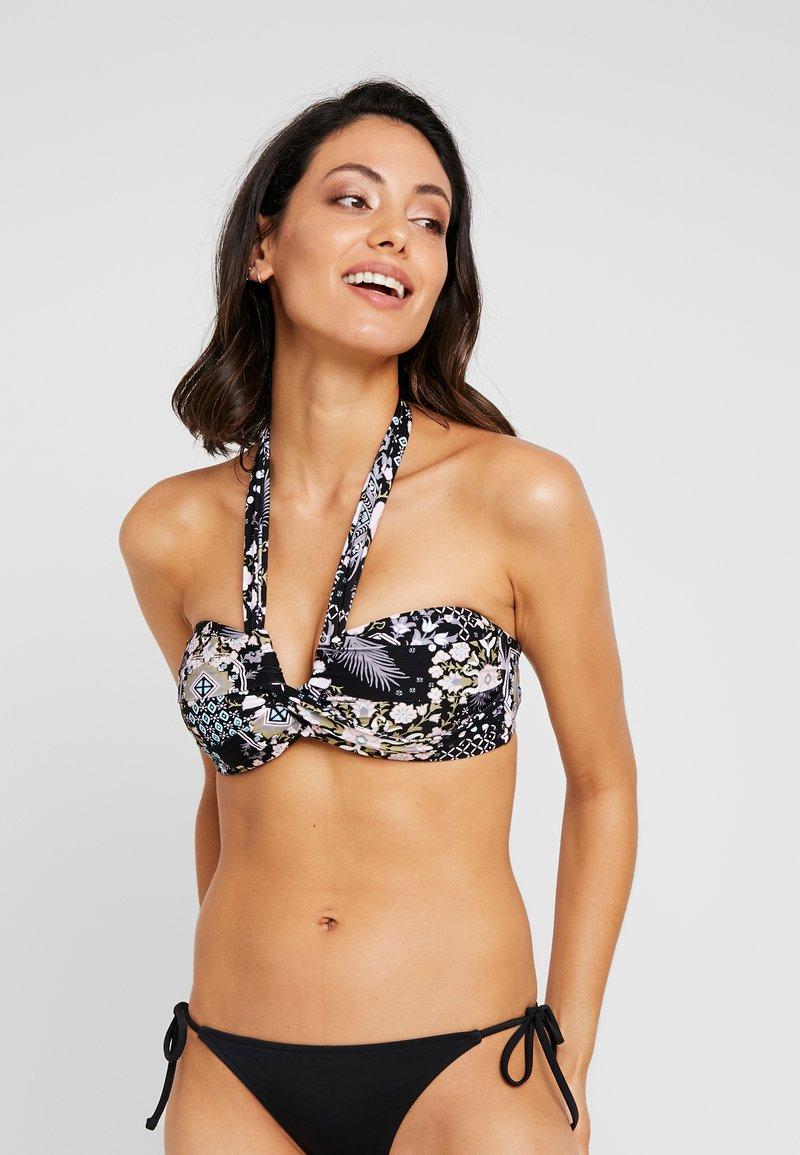 Seafolly - BANDEAU - Bikini top - black