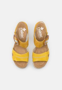 Rieker - Platform sandals - gelb - 5