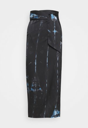 TIE DYE JASPRE SKIRT - A-line skirt - navy multi